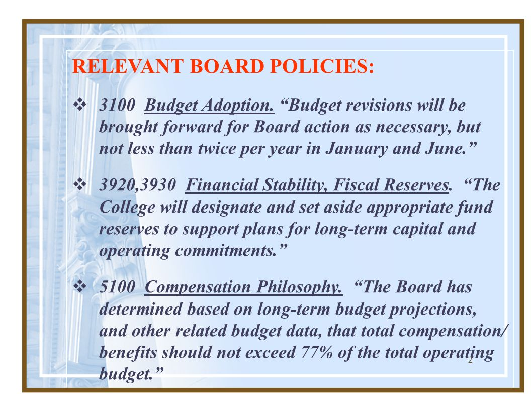 23 OTHER BUDGETARY FUNDS