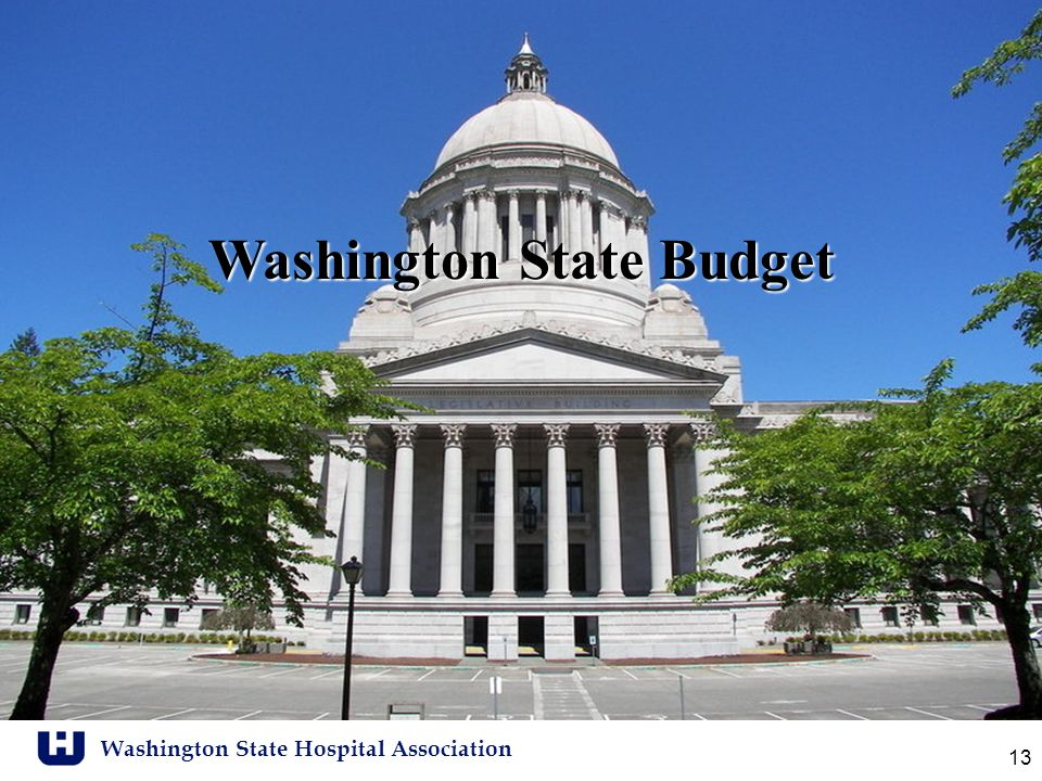 Washington State Hospital Association 13 Washington State Budget