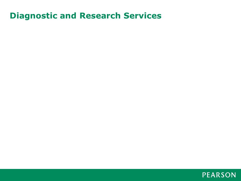 Diagnostic and Research Services
