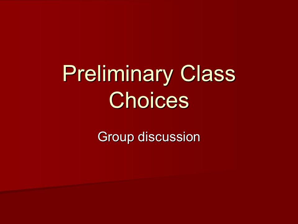 Class Samples Essay 3