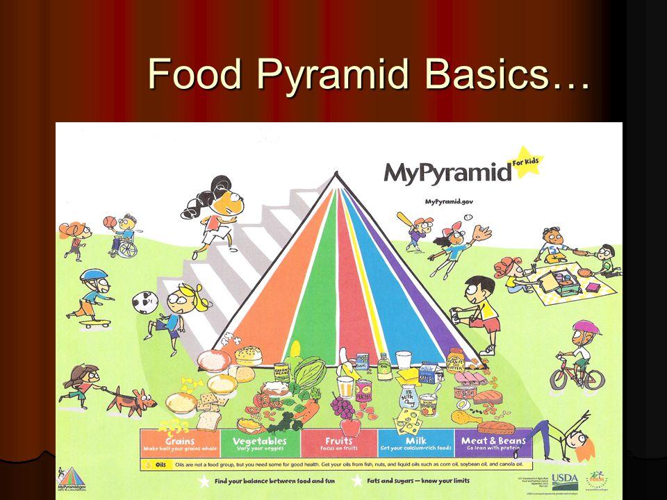 Food Pyramid Basics…