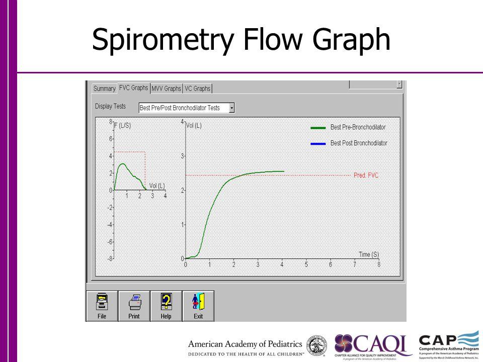 Spirometry Flow Graph