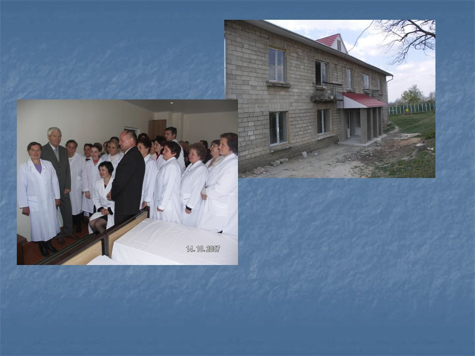 The project: The Reconstruction of the Medical Centre (1 525 000 MDL)