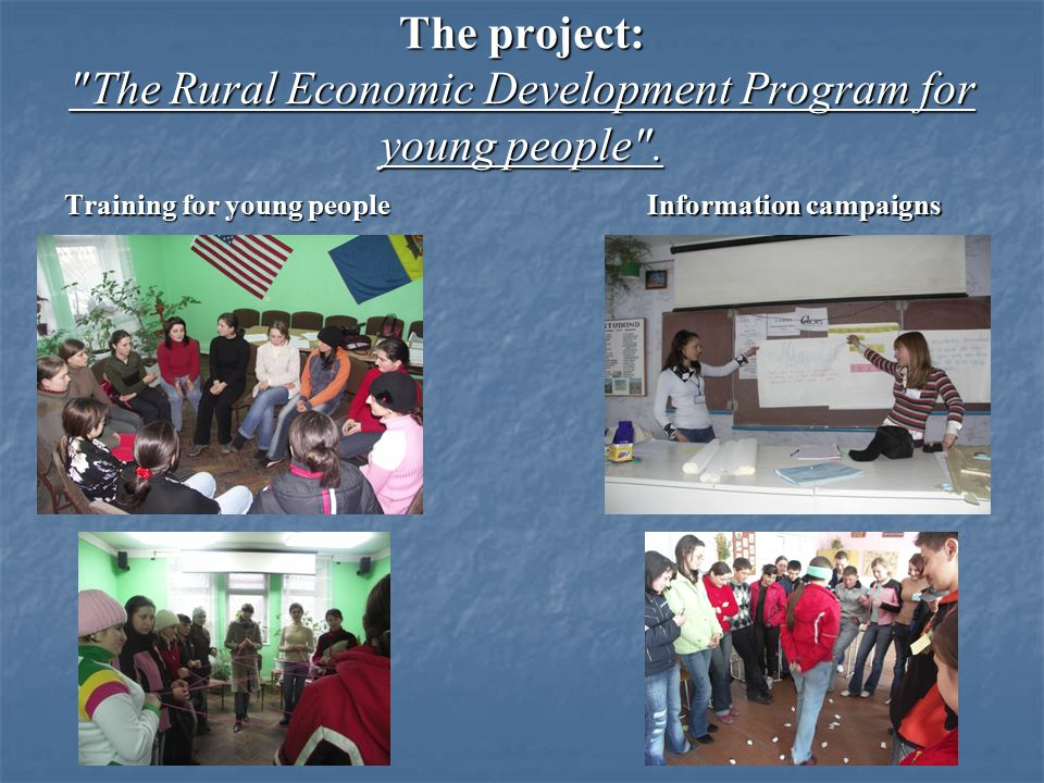 The project was implemented with financial support from USAID.