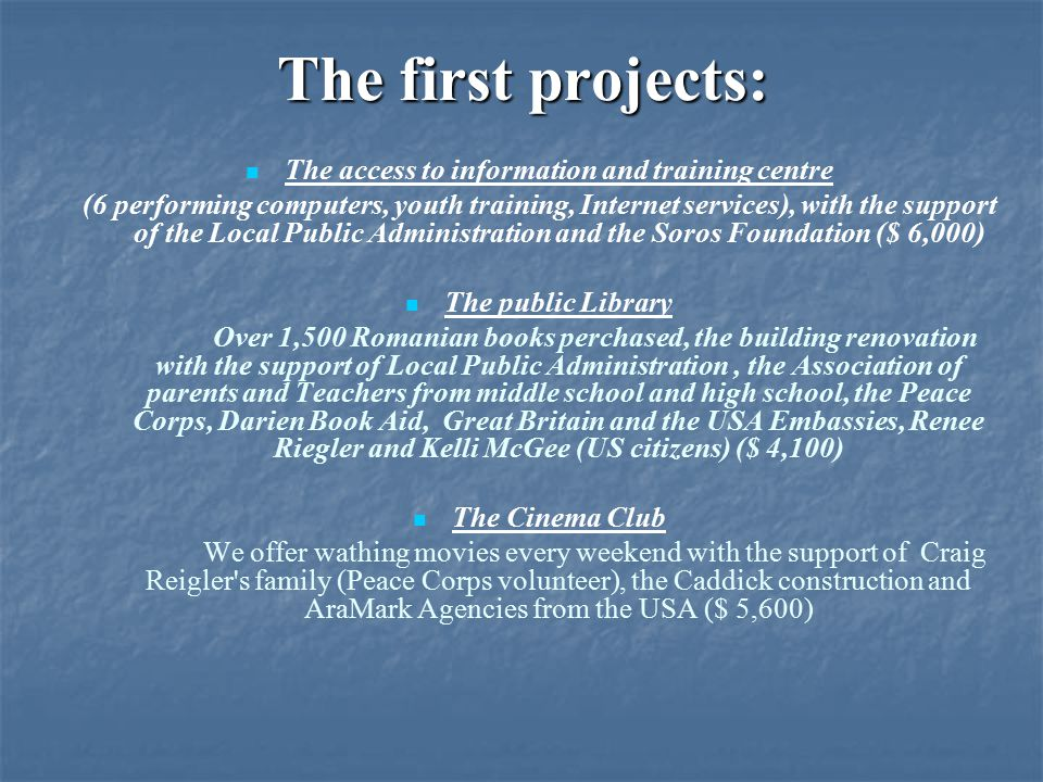 The project: Construction of heating system in the public library from Pelinia village .