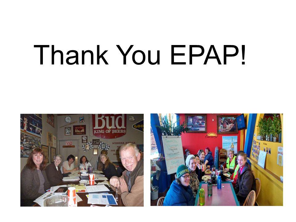 Thank You EPAP!