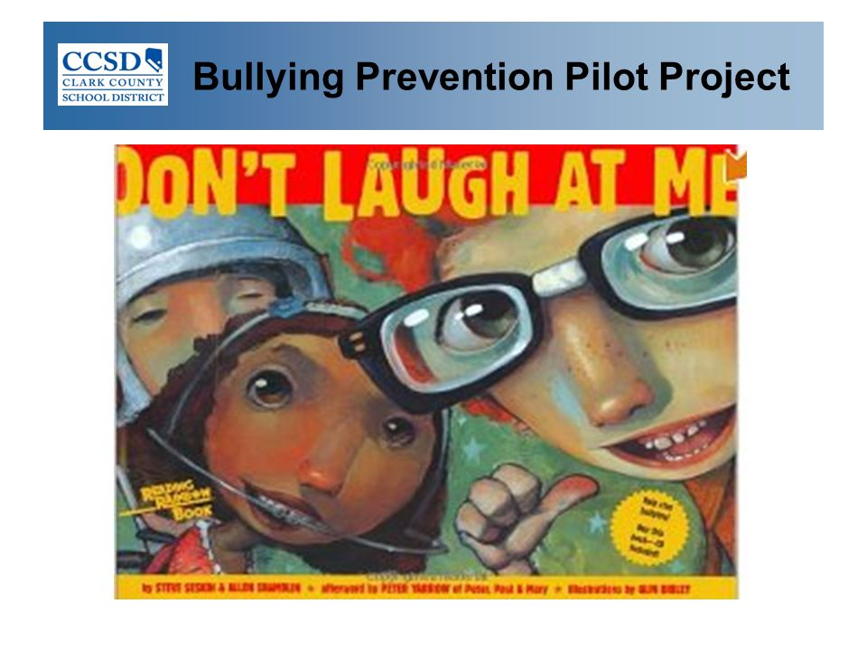 Bullying Prevention Pilot Project