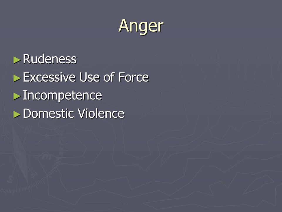 Common Motivators ► Anger ► Lust ► Greed ► Peer Pressure