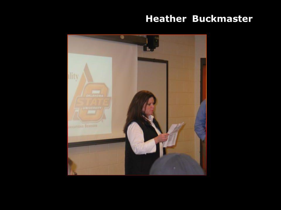Heather Buckmaster