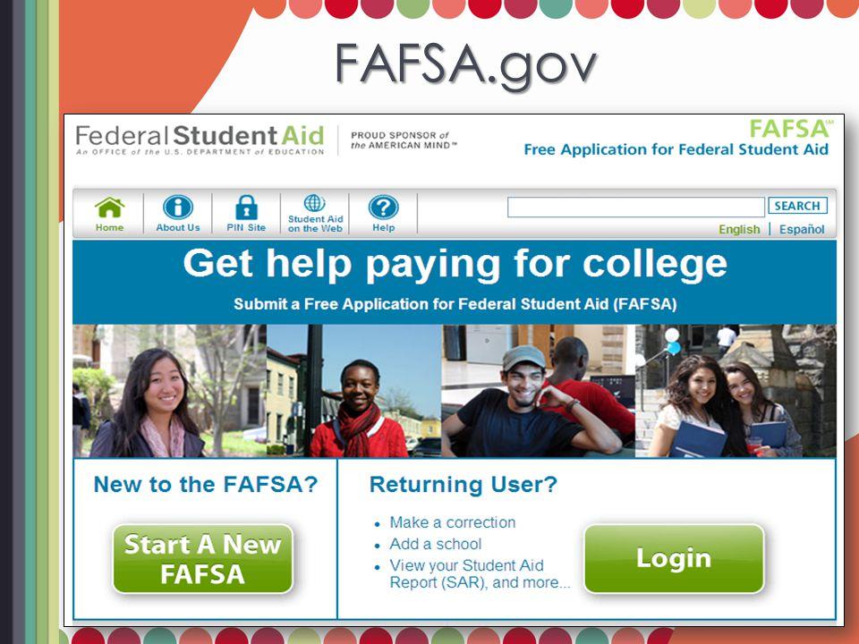FAFSA.gov FAFSA.gov