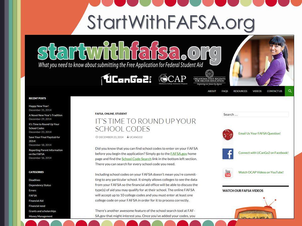 FAFSA Resources FAFSA Resources