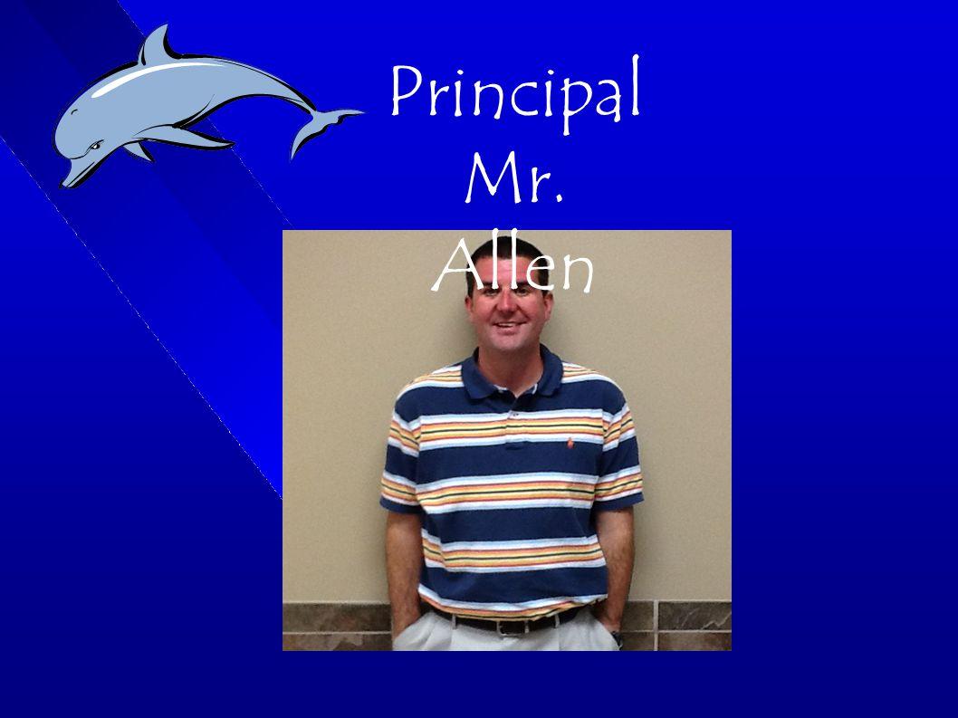 Principal Mr. Allen