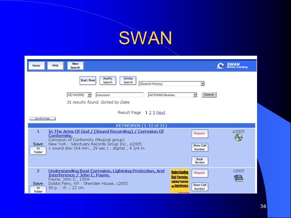 36 SWAN