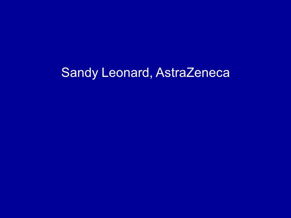 Sandy Leonard, AstraZeneca