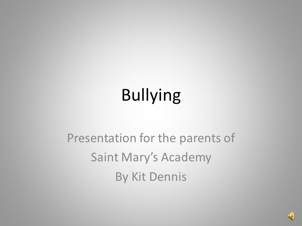 Direct Bullying Behavior Hitting, kicking, shoving, spitting… Taunting, teasing, degrading racial or sexual comments Threatening, obscene gestures
