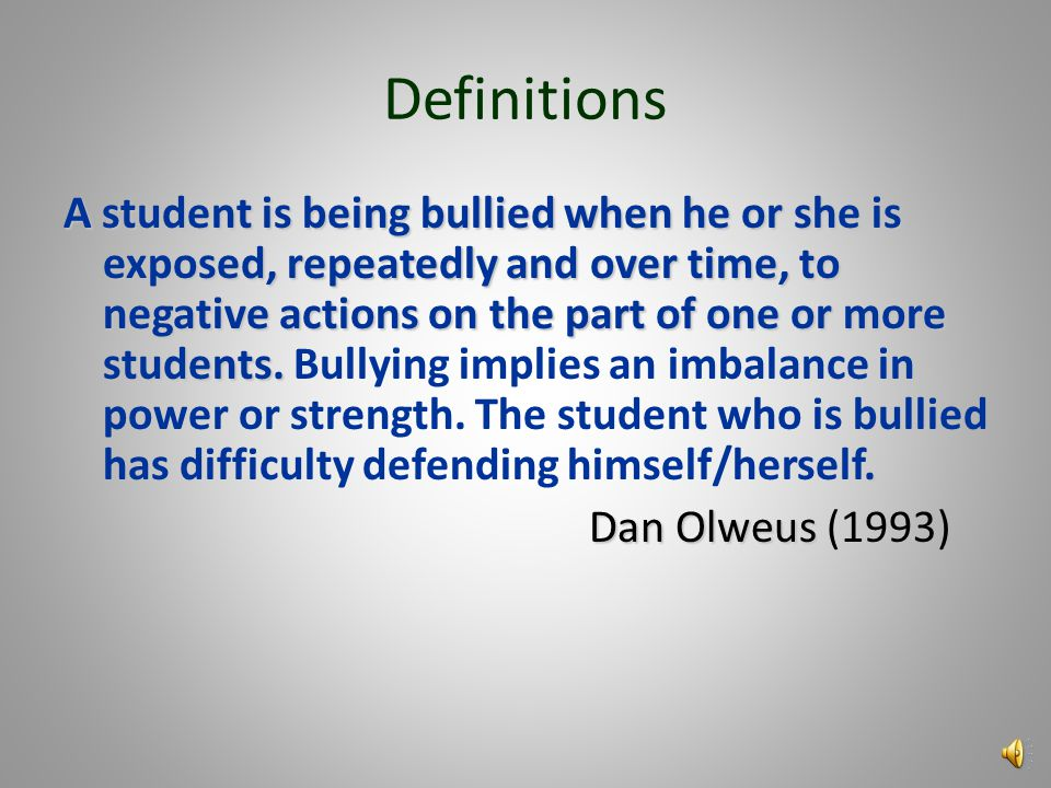 Policy It is the policy of the state of Massachusetts that school employees, volunteers, and students shall not engage in bullying or harassing behavi