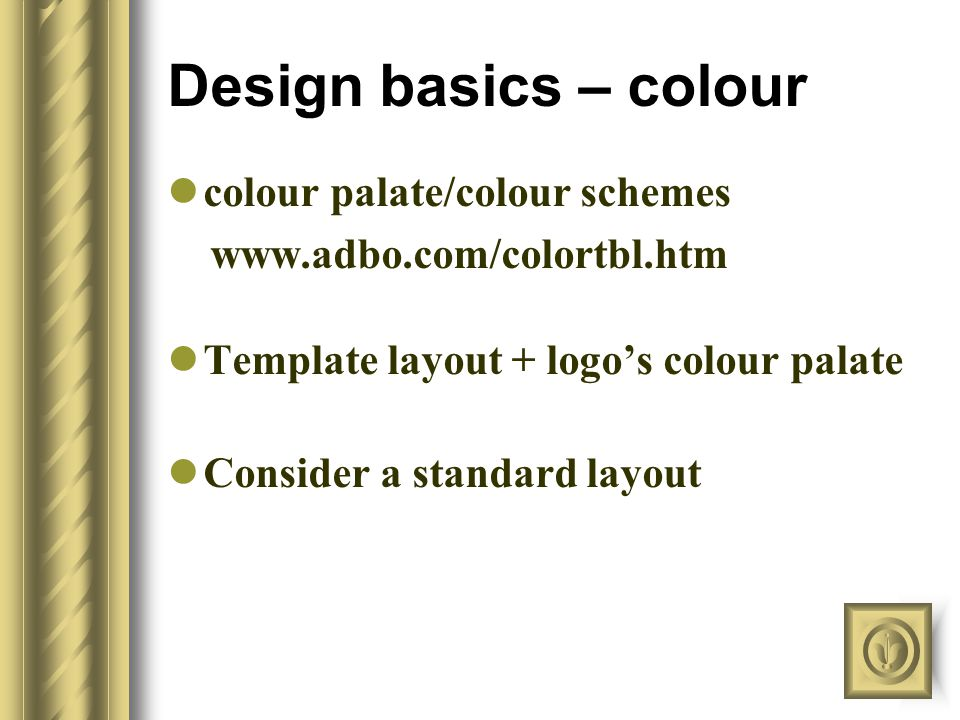 Design basics – font Certain combinations of fonts evoke a certain mood.