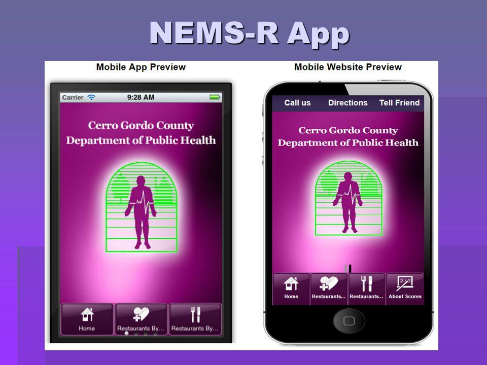 NEMS-R App
