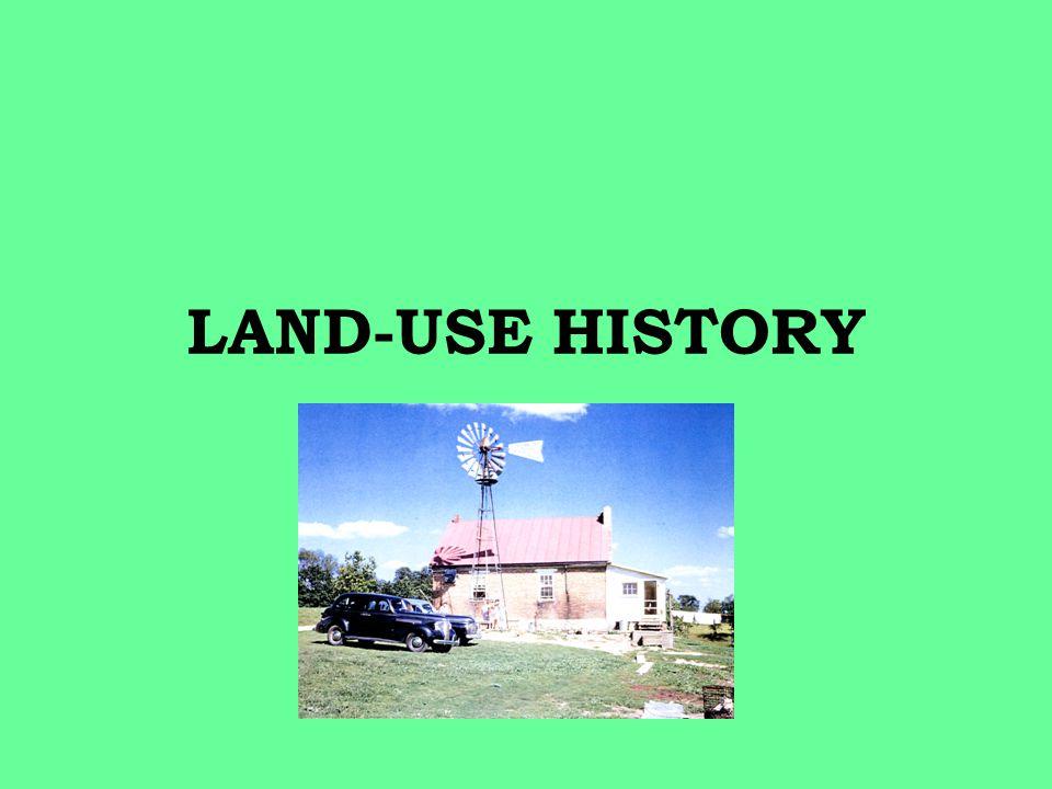 LAND-USE HISTORY