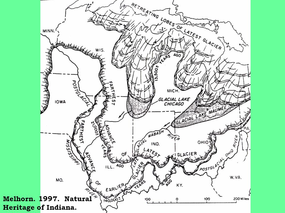 Salamonie Gorge Formed in Holocene? (Fleming, 2005)