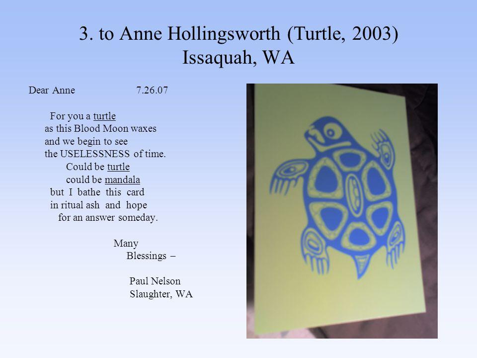 74.to D.D. Wigley (One (Postcard) Love) Port Townsend, WA Slaughter, WA 8.24.07 Irie D.D.