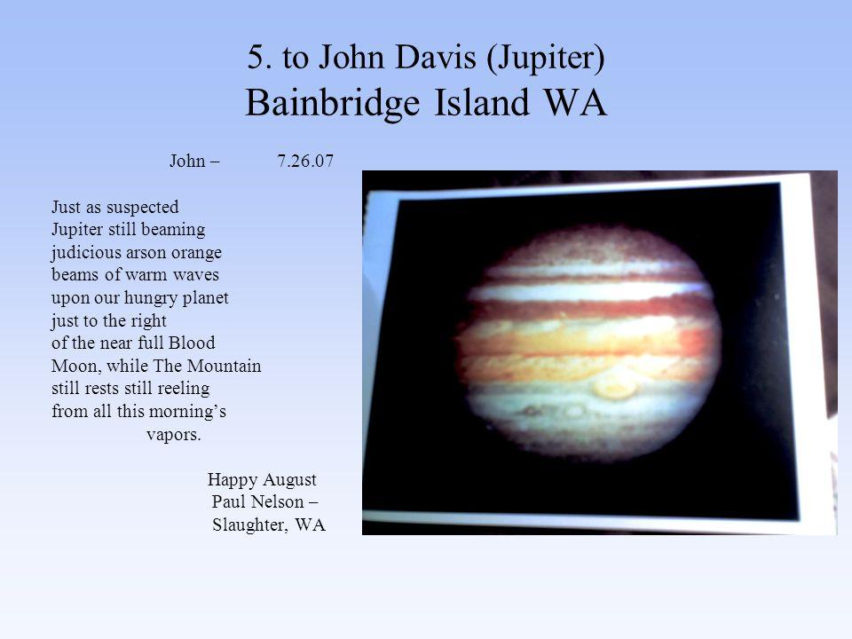 86.to John Burgess (Earth, Stars, Dream) Seattle, WA Slaughter, WA 8.29.07 John.