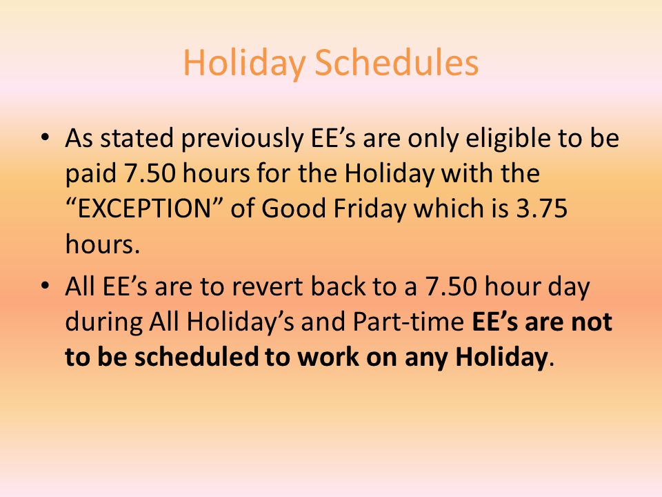 Flex Work Schedule You can let Kelli earn 2.50 hours of Comp Time and be paid for 1.50 hours of Overtime (which is billed to the PVA Office).