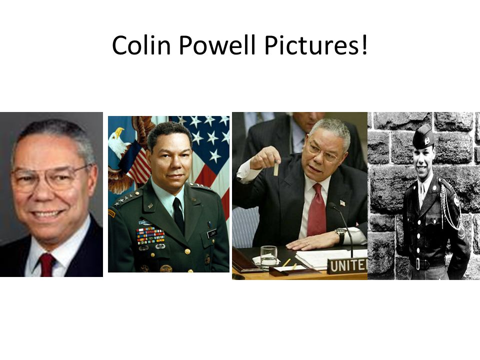 Colin Powell Pictures!