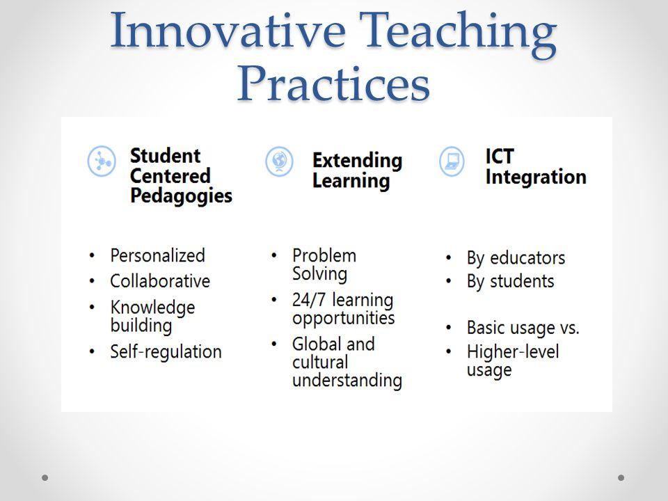 Innovative Teaching Practices