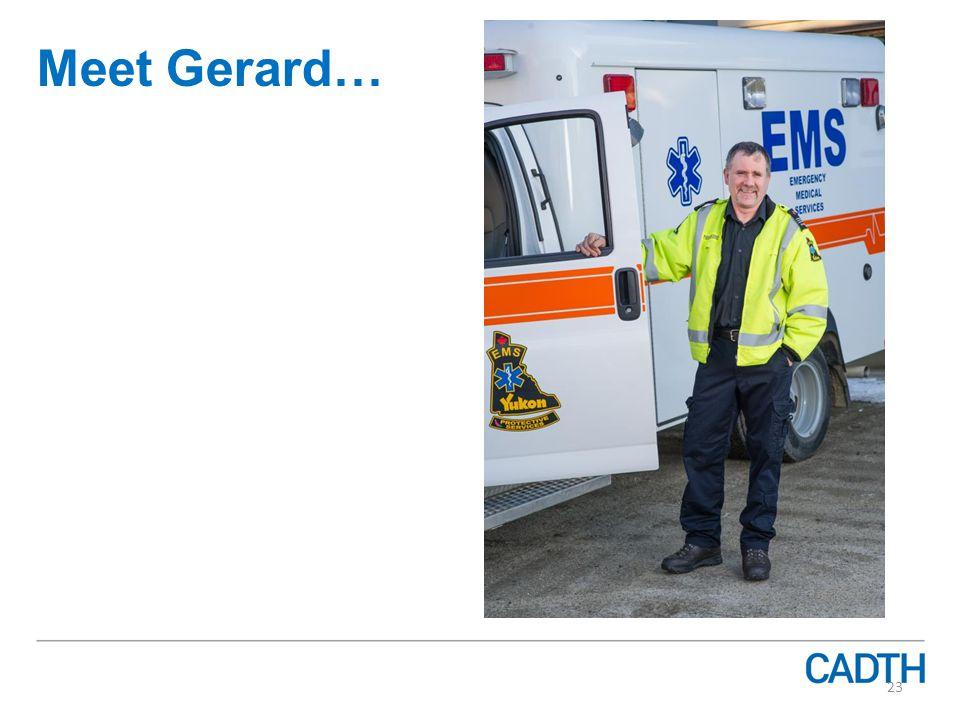 Meet Gerard… 23