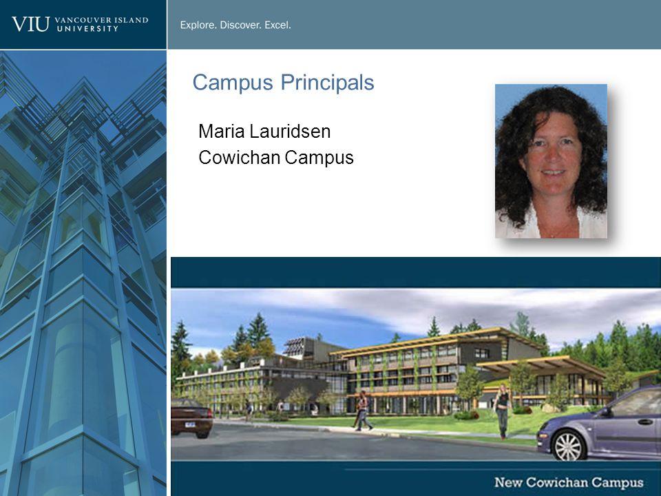 Campus Principals Maria Lauridsen Cowichan Campus