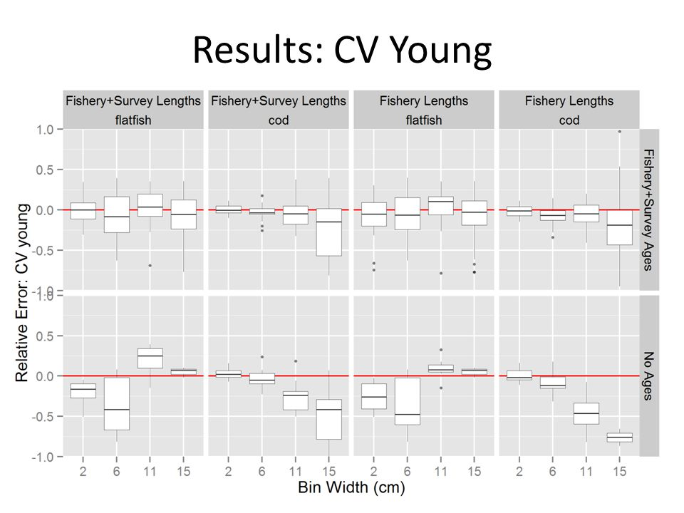 Results: CV Young