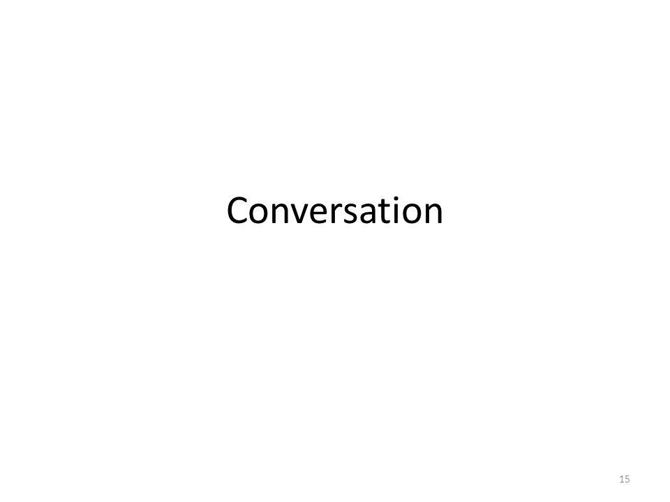 Conversation 15