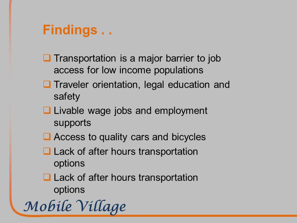 Mobile Village..