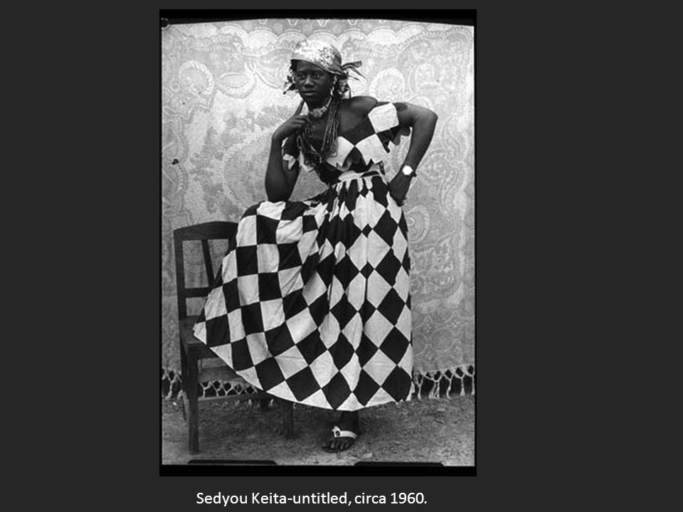 Sedyou Keita-untitled, circa 1960.