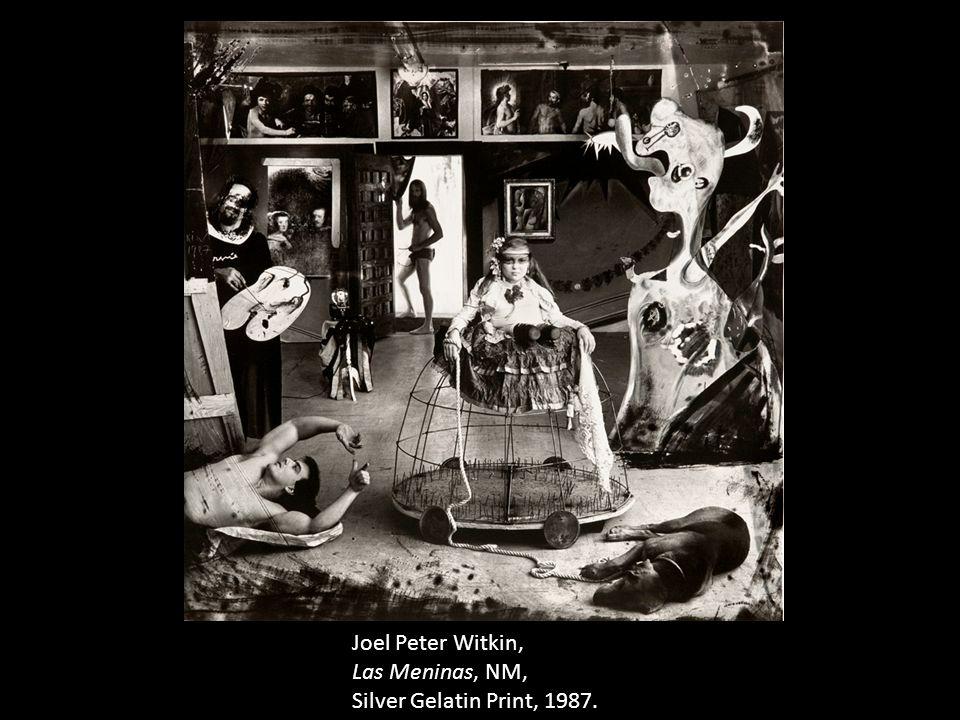 Joel Peter Witkin, Las Meninas, NM, Silver Gelatin Print, 1987.