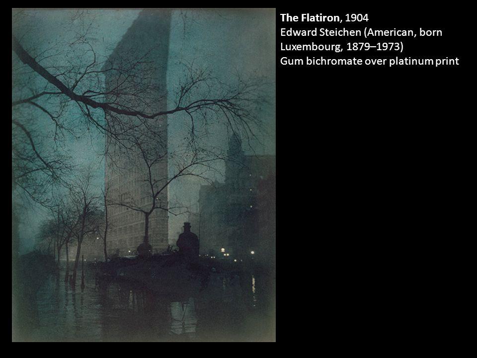 The Flatiron, 1904 Edward Steichen (American, born Luxembourg, 1879–1973) Gum bichromate over platinum print
