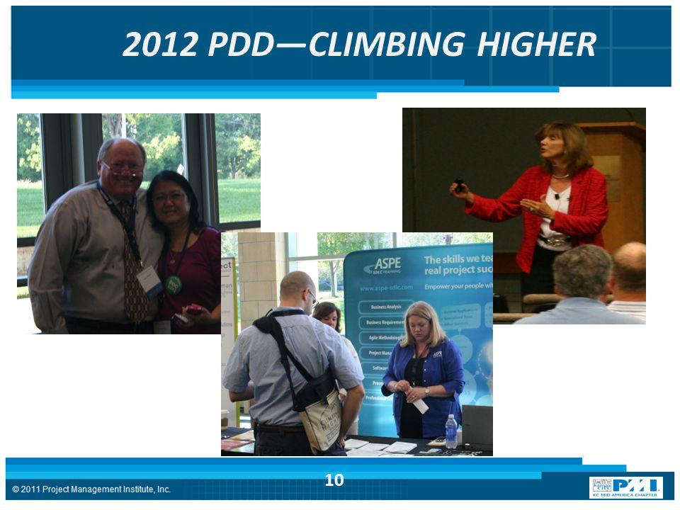 2012 PDD—CLIMBING HIGHER 10