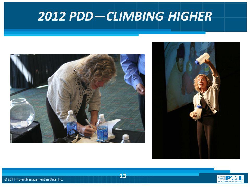 2012 PDD—CLIMBING HIGHER 13