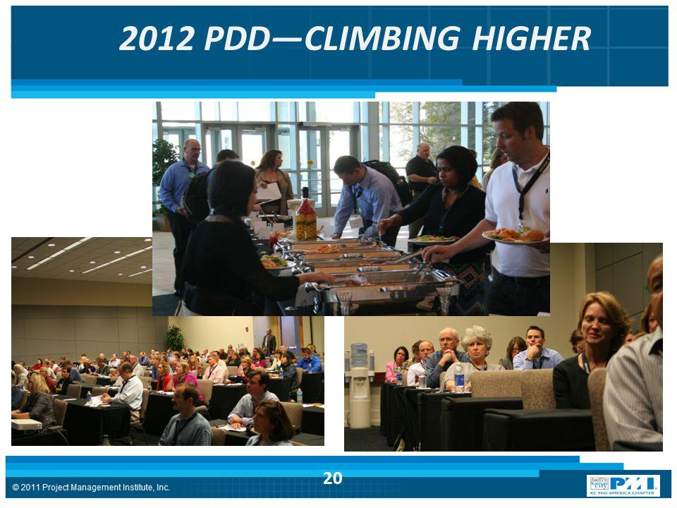 2012 PDD—CLIMBING HIGHER 20