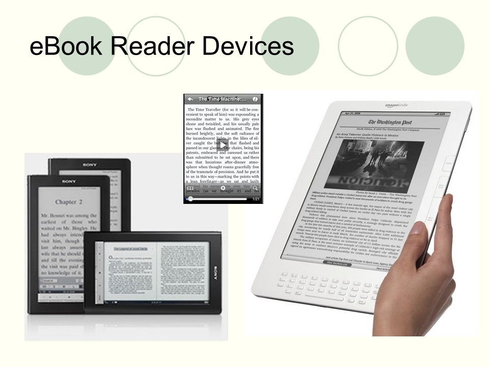 eBook Reader Devices