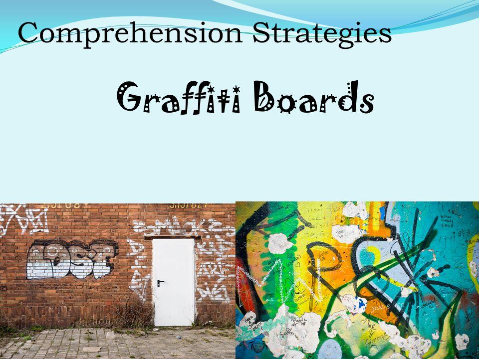 Comprehension Strategies Graffiti Boards