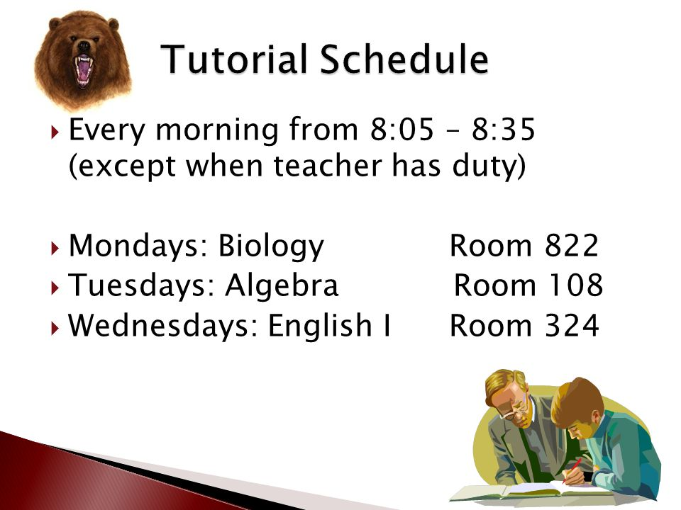  30 minutes of homework per day; AP classes may require more; due when specified by the teacher  Outside of class major assignments, projects, and t
