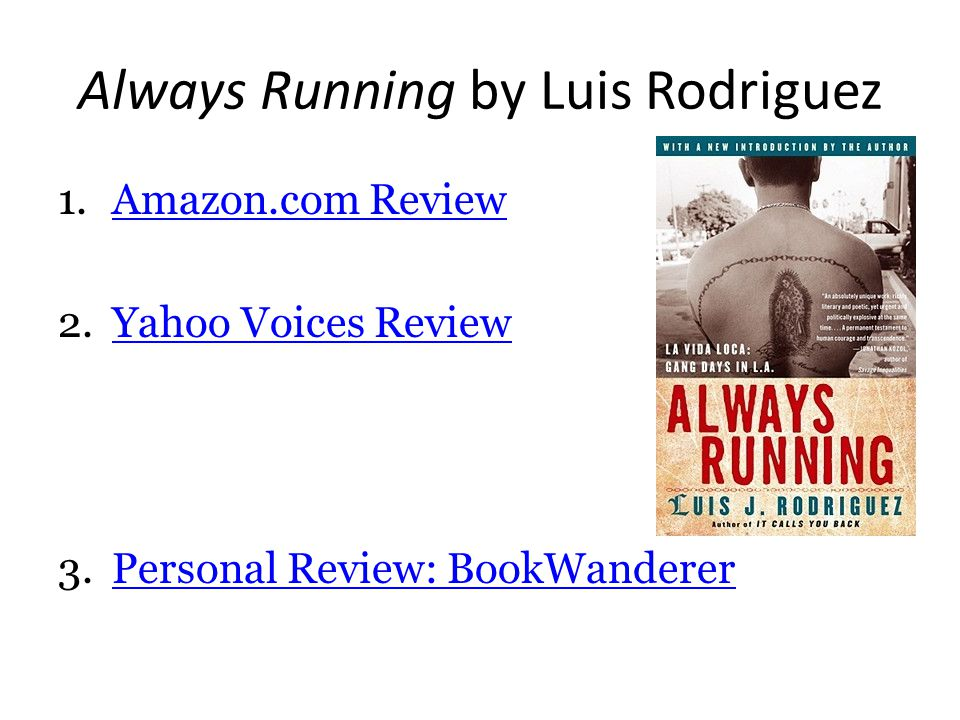 always running book review