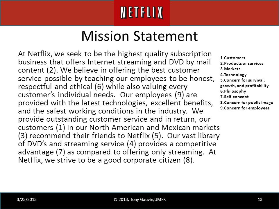 Netflix Case Study for MPOB   Netflix   Dvd Abstract  Netflix