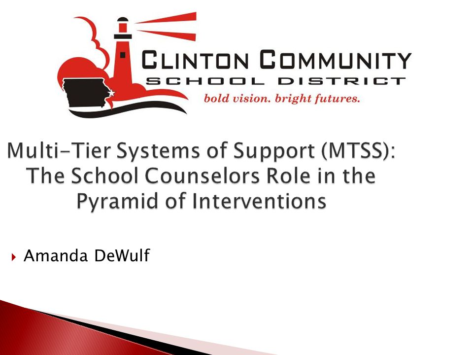  Intentional Small Groups  Check In Check Out  Problem Solving with students with behavior referrals  Individual Counseling  Parent/Staff Consultation & meetings  RTI/PLC Teams  Pre ACM/Attendance meetings  Parent/Teacher Conferences  Agency Referrals  Community Supports
