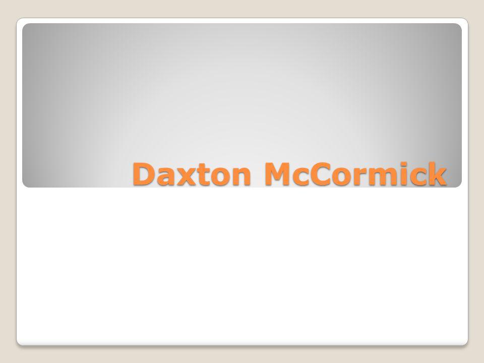 Daxton McCormick