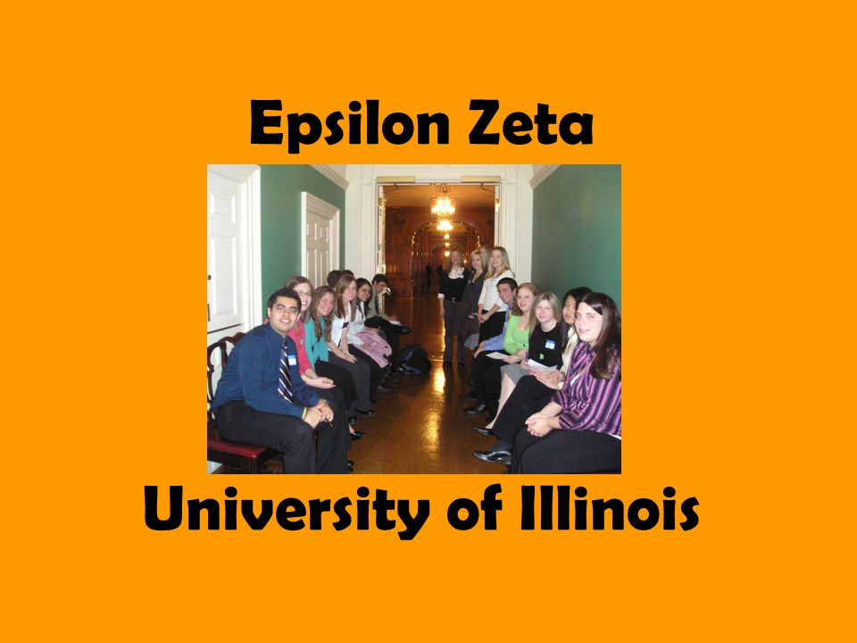 Epsilon Zeta University of Illinois