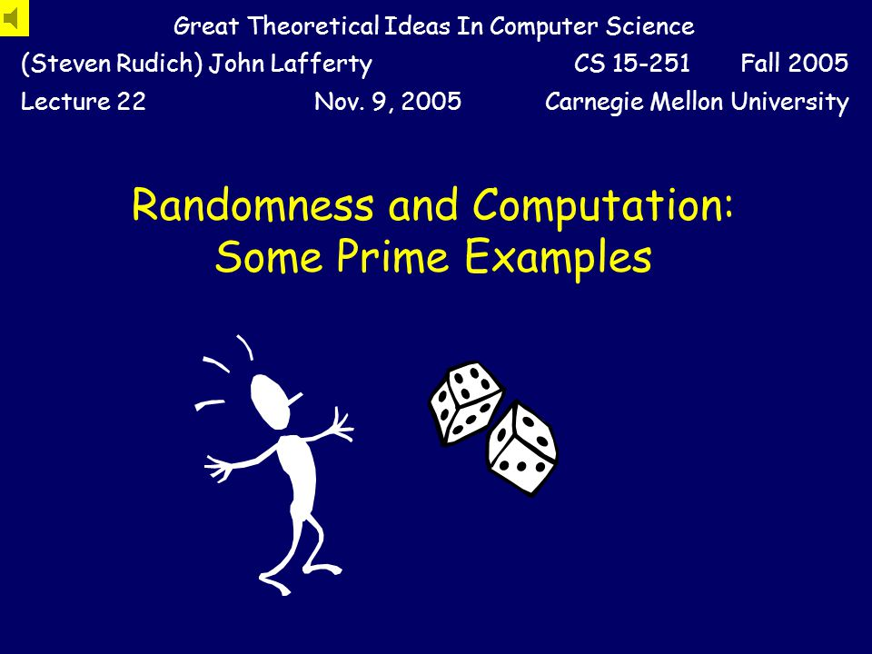 Primality Testing Versus Factoring Primality has a fast randomized algorithm.
