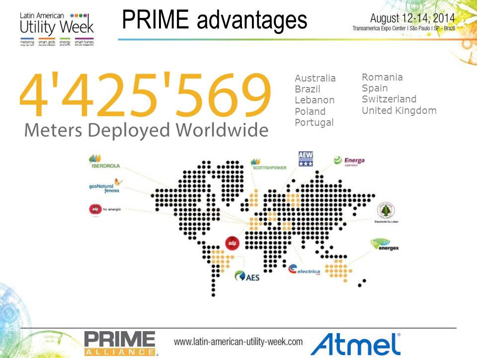 PRIME advantages Australia Brazil Lebanon Poland Portugal Romania Spain Switzerland United Kingdom